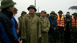 Bộ Trưởng Cao Đức Phát kiểm tra công tác phòng, chống bão tại Hải Phòng