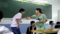 TP.HCM: Cô dùng thước vụt trò sưng tay, đổ tại... mang thai
