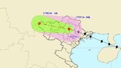 Áp thấp nhiệt đới tiếp tục gây mưa lớn ở miền Bắc