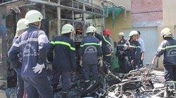 TP.HCM: Cháy lớn tại ngân hàng, thiêu rụi 4 xe máy cùng trụ ATM