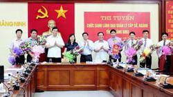 Nhà báo thi tuyển trúng chức danh Giám đốc Sở Thông tin và Truyền thông Quảng Ninh