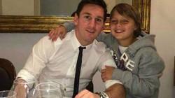 Cháu trai Messi gia nhập lò đào tạo của Barcelona