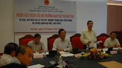 Bộ trưởng Bộ GDĐT giải trình về kỳ thi THPT quốc gia