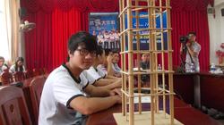 Sinh viên Đà Nẵng đoạt giải Nhất thi thiết kế mô hình nhà chống động đất