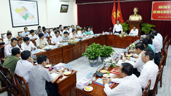 Bí thư Thành ủy Hà Nội làm việc với Ban Chỉ đạo Tây Nam Bộ