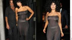 Lady Gaga diện váy trong suốt, khoe cơ thể nóng bỏng