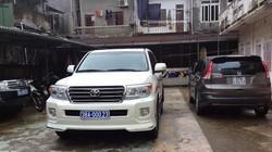 Trưởng BQL Khu kinh tế Hà Tĩnh đi xe sang đeo biển xanh giả: 'Lỗi do lái xe'