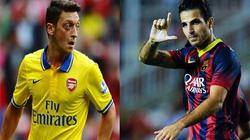 """Fabregas """"tố"""" bị Ozil chặn đường trở lại Arsenal"""