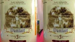 Sữa dê Danlait không tốt như công bố