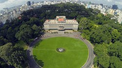 Những công trình kiến trúc nổi tiếng Sài Gòn nhìn từ trên cao
