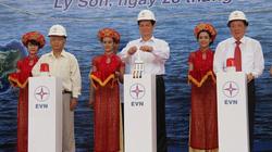 Quảng Ngãi: Đảo tiền tiêu Lý Sơn  bừng sáng điện lưới quốc gia