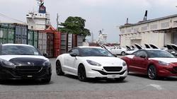 Peugeot 3008 và RCZ cập cảng Sài Gòn