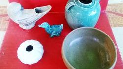 Phát hiện nhiều cổ vật bằng gốm sứ thời Trần, Lê, Nguyễn ở Hà Tĩnh