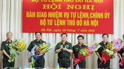 Hà Nội có tân Tư lệnh,  Chính ủy Bộ Tư lệnh