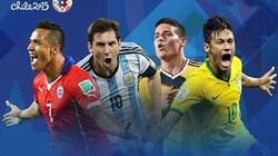 Clip: 10 pha làm bàn đẹp mắt nhất Copa America 2015