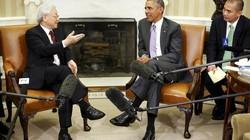 Tổng thống Mỹ tiếp Tổng Bí thư tại phòng Bầu dục