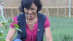 Bà chủ rau thơm ngoại