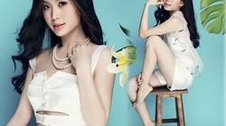 Á hậu Diễm Trang khoe vòng eo 58 với áo crop top