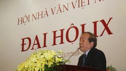 Nhà thơ Hữu Thỉnh tái đắc cử Chủ tịch Hội Nhà văn Việt Nam