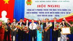 Tỉnh Lâm Đồng tôn vinh 150 nông dân tiêu biểu