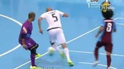 Clip: Pha solo ghi bàn tuyệt đẹp của Zidane trên sân futsan