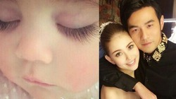 Vợ chồng Châu Kiệt Luân chào đón con gái đầu lòng
