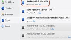 Flash Player đã có bản vá cho trình duyệt Firefox, Chrome