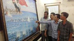 Họa sĩ nghèo và bức tranh về hải chiến Gạc Ma