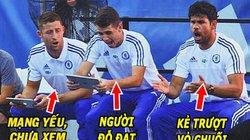 """ẢNH CHẾ: Sao Chelsea xem kết quả thi, Van Gaal """"nổ vang trời"""""""