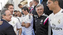 Chốt hạ tương lai của Ronaldo và Ramos