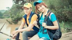 Hari Won nhí nhảnh đi câu cá cùng Ngô Kiến Huy