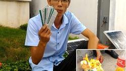 Clip: CĐV đốt 10 vé trận Việt Nam - Man City