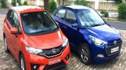 Honda Jazz và Hyundai i20: Cuộc đối đầu khốc liệt