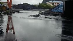 Cung ứng than cho ngành điện gặp khó do mưa lũ tại Quảng Ninh