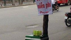 HN: Công an phường trả lại bình trà đá miễn phí tịch thu của dân