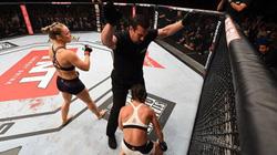 """""""Đả nữ"""" Ronda Rousey chỉ mất 34 giây để hạ knock-out đối thủ"""