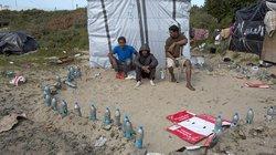 Cuộc sống ở trại tị nạn Calais, nước Pháp