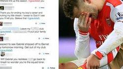 """CĐV Arsenal dọa giết """"gà nhà"""" vì khiến Wilshere nhập viện"""