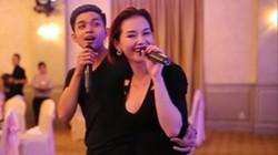 Quỳnh Chi tình cảm song ca với Jun (nhóm 365)