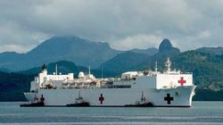 Tàu bệnh viện khổng lồ Hải quân Hoa Kỳ sắp cập cảng Đà Nẵng