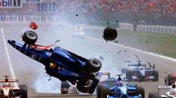 Clip: Những tai nạn khủng khiếp nhất trên đường đua công thức 1