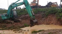 Đường ống nước từ sông Đà về Hà Nội vỡ lần thứ 13