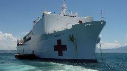 Siêu tàu bệnh viện của Hải quân Hoa Kỳ cập cảng Đà Nẵng