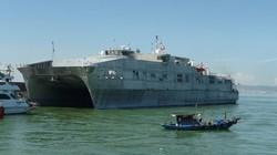 Khám phá tàu đổ bộ siêu tốc Hải quân Hoa Kỳ vừa đến VN