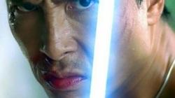 Chân Tử Đan lạnh lùng trên poster Star Wars
