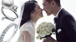 Lóa mắt với nhẫn cưới kim cương tiền tỉ của sao Hoa
