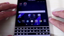 Video BlackBerry Passport Silver Edition chạy Android