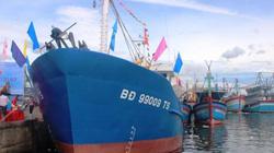 Cận cảnh tàu cá vỏ thép đầu tiên tại Bình Định trị giá hơn 17 tỷ đồng