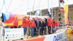 Con thuyền mang tên Đà Nẵng - Việt Nam xuất hiện ở London