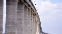 Chính thức thông xe cầu Mỹ Lợi bắc qua sông Vàm Cỏ